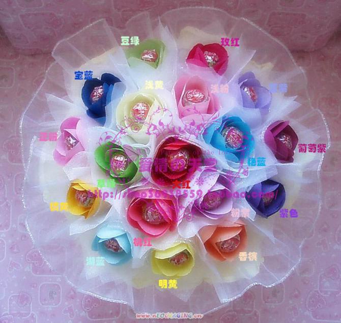 棒棒糖花束制作图解_图片素材  海绵纸折花图解 搜索结果 棒棒糖气球