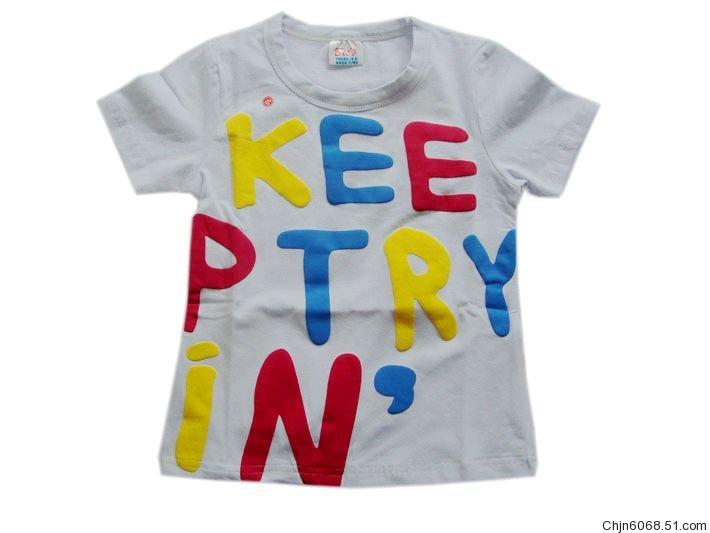 儿童外贸大嘴猴,各种卡通图案t恤