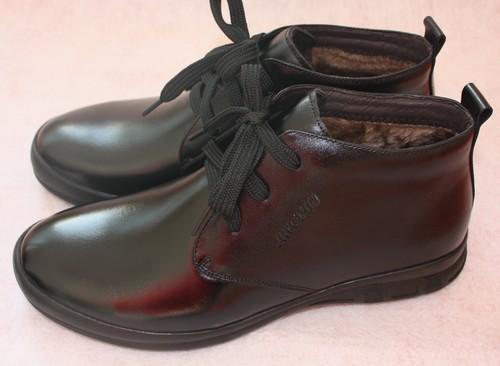 天冷了!哈森女棉靴和红蜻蜓男棉鞋出炉喽