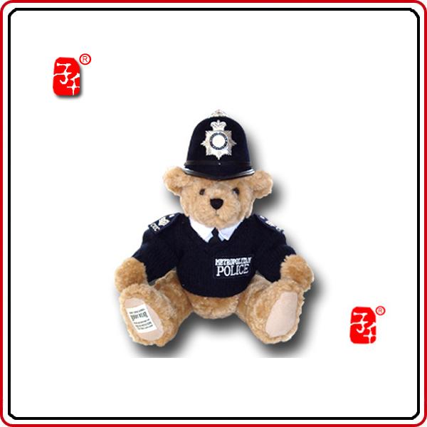 新年警察限量版-英国奥运伦敦表情熊罗志祥礼品包到伤心v警察图片
