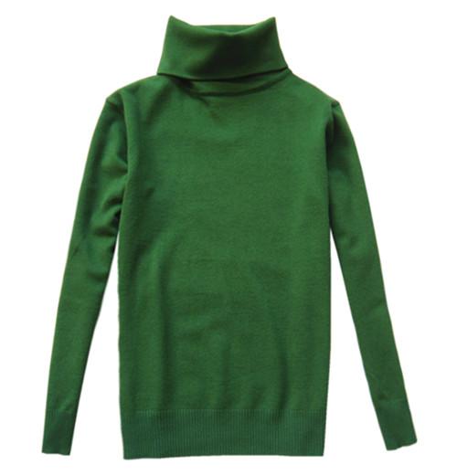 深绿色毛衣外套搭配图片
