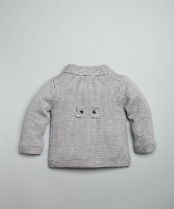 珊瑚绒儿童编织外套1; 宝宝毛衣织法图片分享
