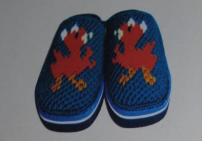 毛线棉拖鞋 图案 花样 图纸_毛线棉拖鞋 图案 花样 图纸图片分享