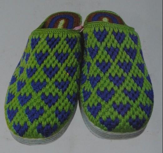... 拖鞋的钩法图解,拖鞋钩法图解_毛线拖鞋的钩法图解