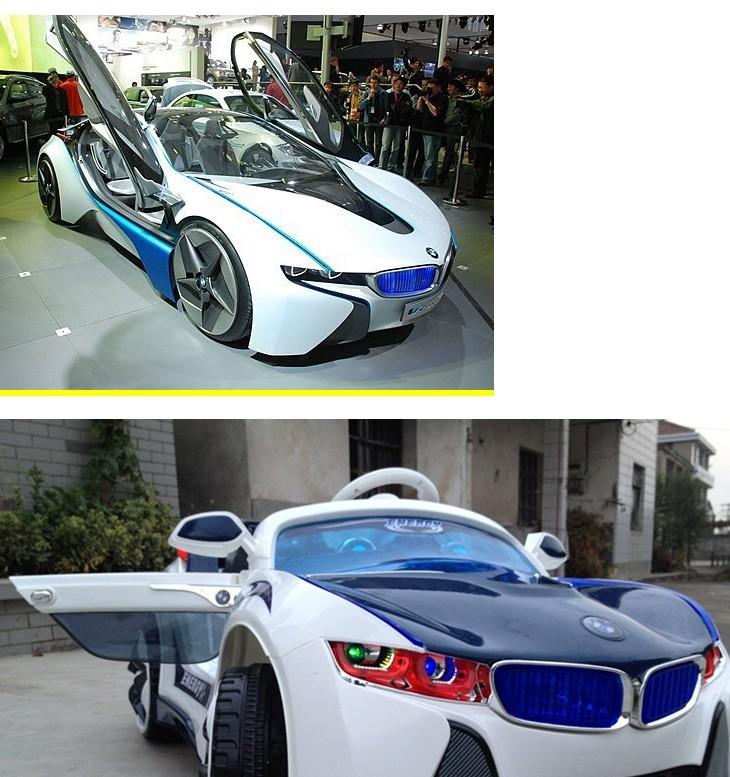 2013新款宝马双驱儿童电动车汽车