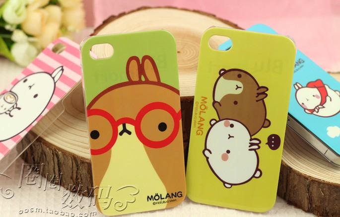 iphone4s手机壳 集采价格23元  ipone4s iphone4手机套 蝴蝶结边框