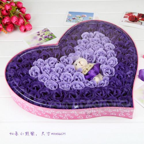 玫瑰花帽子编织