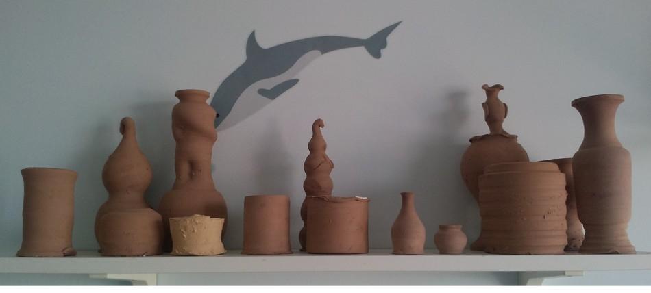 3,彩陶制作:用五颜六色的彩陶制作自己喜欢的手链,挂饰,动漫卡通